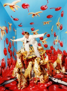 Elton John: Never enough, 1997, Color Photography, 152,4 x 127 cm, Ed. 3/3
